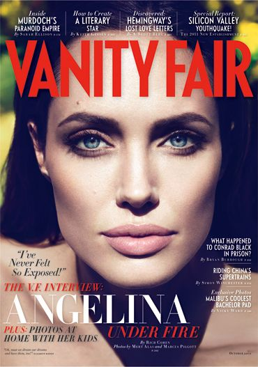 Angelina Jolie Quashes Rumors of a Secret Wedding and Admits to Fears About Writing and Directing Her First Feature Film   Vanity Fair