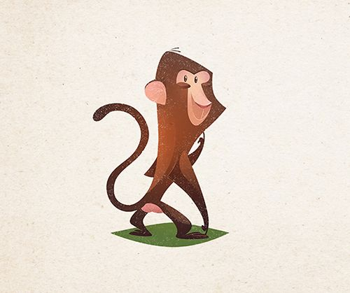 Animal characters on Behance