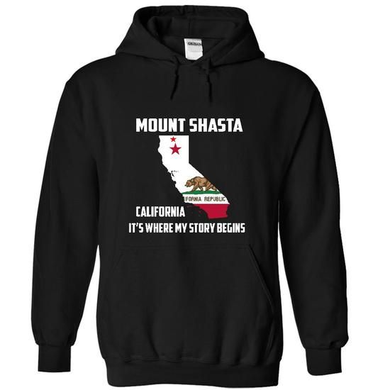 Mount Shasta California Its Where My Story Begins! Spec - #gift basket #bridal gift. ACT QUICKLY => https://www.sunfrog.com/LifeStyle/Mount-Shasta-California-Its-Where-My-Story-Begins-Special-Tees-2014-5825-Black-12260819-Hoodie.html?68278