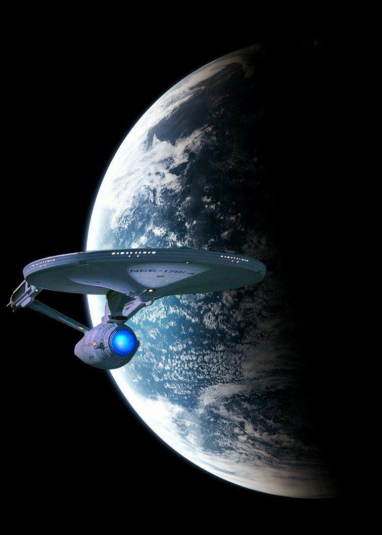 Enterprise By Moroom Star Trek Wallpaper Star Trek Art Star Trek Images