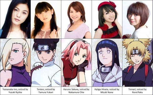 Meet their VOICE ACTRESS | Anime Fun & Words 1 | Naruto