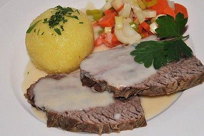 Tafelspitz mit Meerrettichsoße von Klarlack07   Chefkoch
