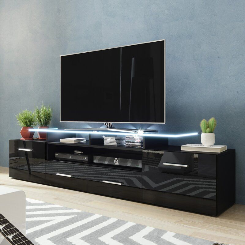 Casares Tv Stand For Tvs Up To 70 Modern Tv Stand Living Rooms Tv Stand Decor Living Room Living Room Tv Stand