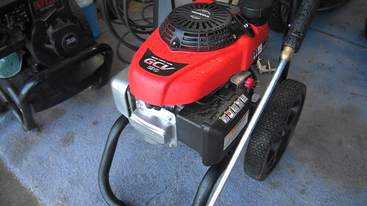 Honda Pressure Washer That Will Not Start After Storage Plugged Carburetor Main Jet You
