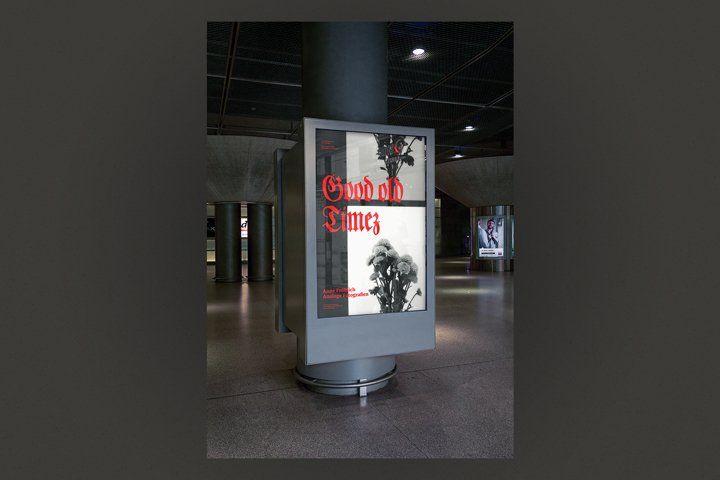 Mockup - Poster - Hall (59942)   Mockups   Design Bundles