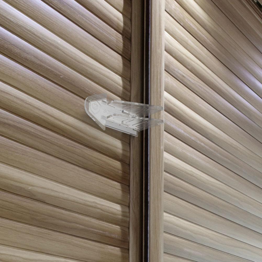 Safetynex 3M Adhesive Sliding Door Lock for Child Safety