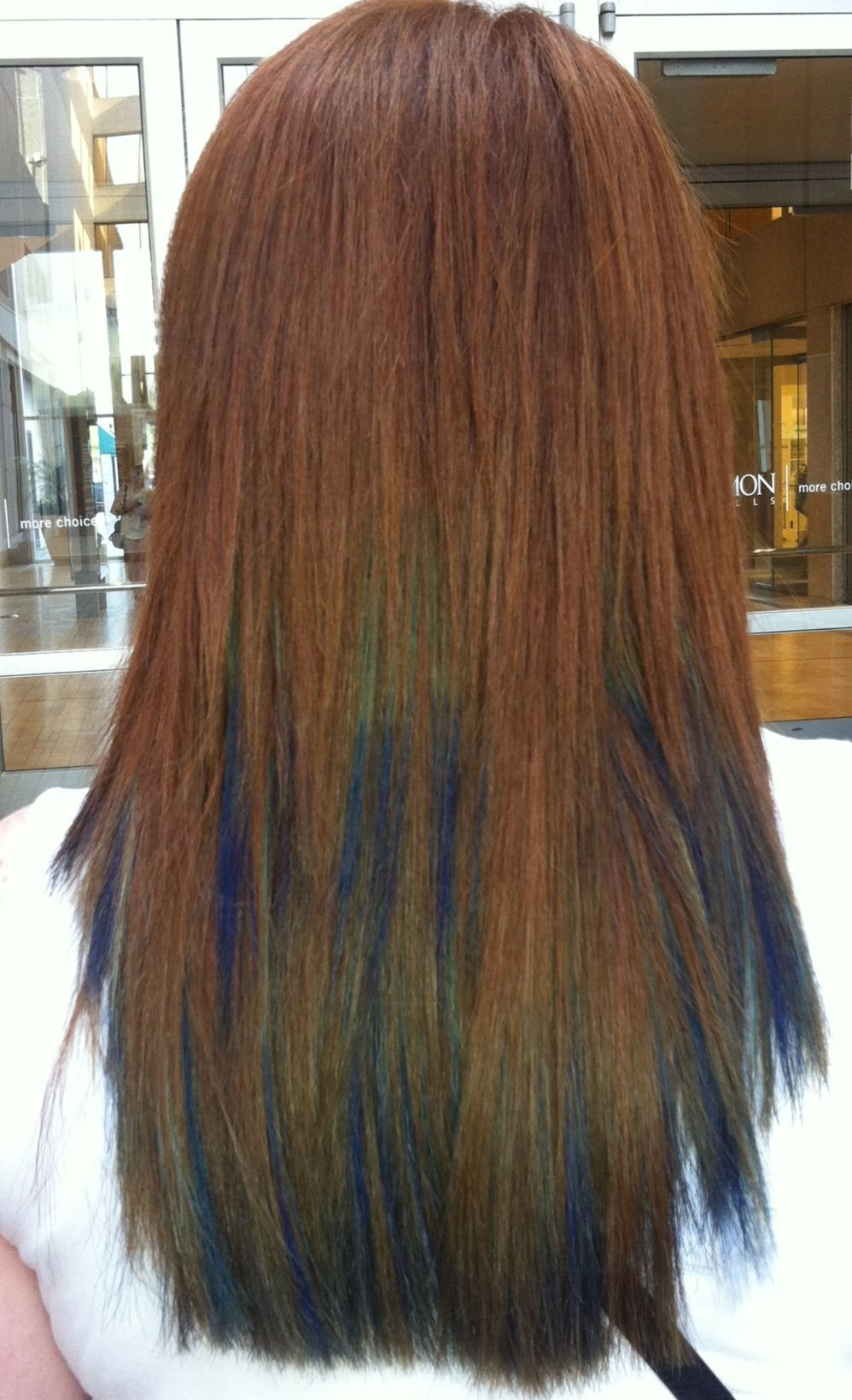 Peacock hair dye blue hair turquoise hair dye ombre hair ombre
