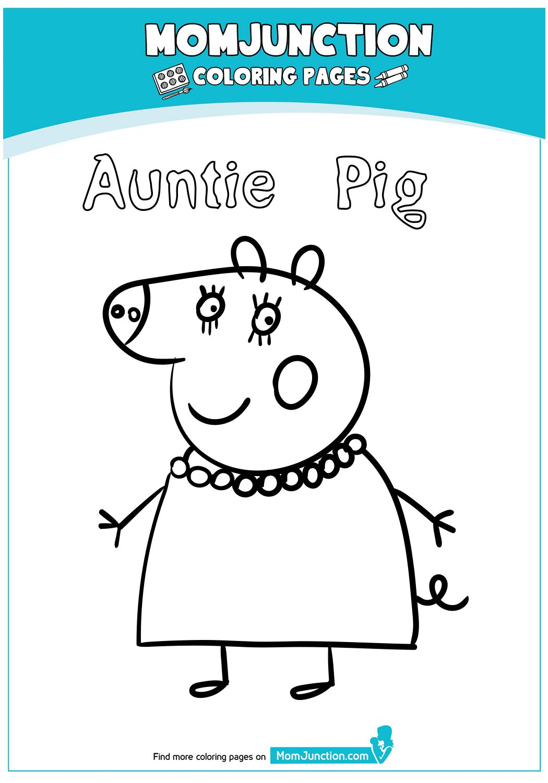 Print Coloring Image Momjunction Peppa Pig Colouring Peppa Pig Coloring Pages Coloring Pages