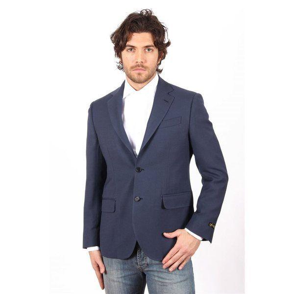 Dark Blue 46 EUR - 36 US Versace 19.69 Abbigliamento Sportivo Milano Italia Mens Jacket 2 NAPOLI D - CTN68UP 70