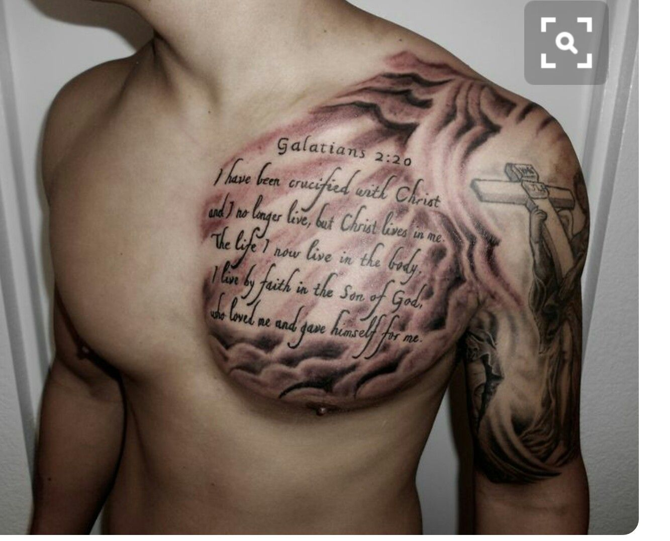 Pin By Michelle Frank On Tattoos Cool Chest Tattoos Chest Tattoo Men Verse Tattoos