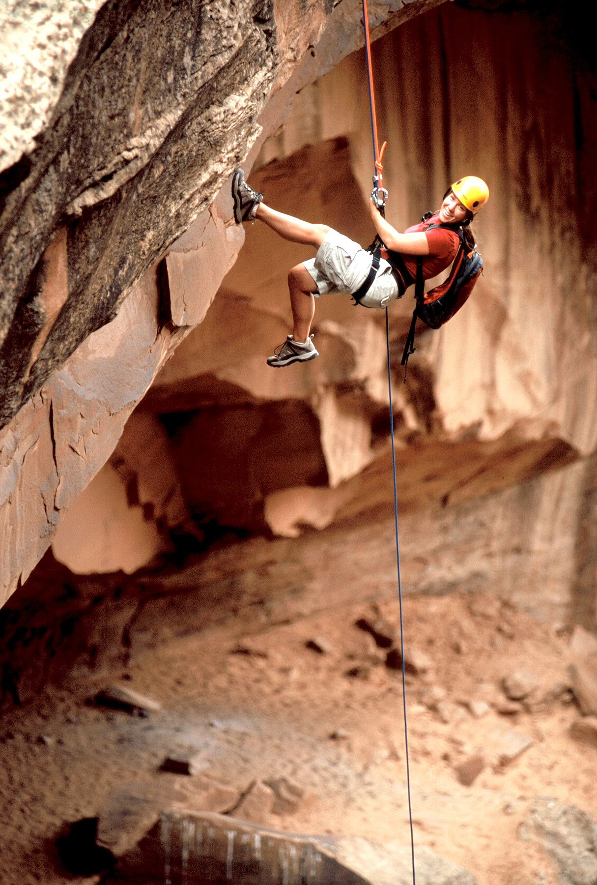 Moab is the place to be for rock climbers. Sorrel River