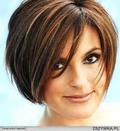 5 Short Haircuts For Fine Hair And Round Faces #bobhairstylesforfinehair #finehair