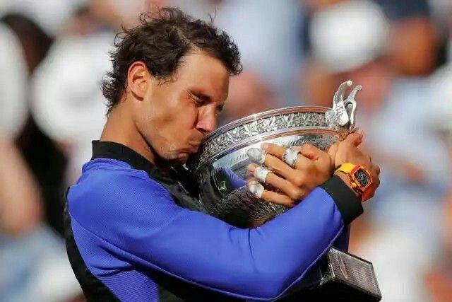 half off f4871 2b71d Rafa - French open 2017 | Game, Set, Match | Nadal tennis ...