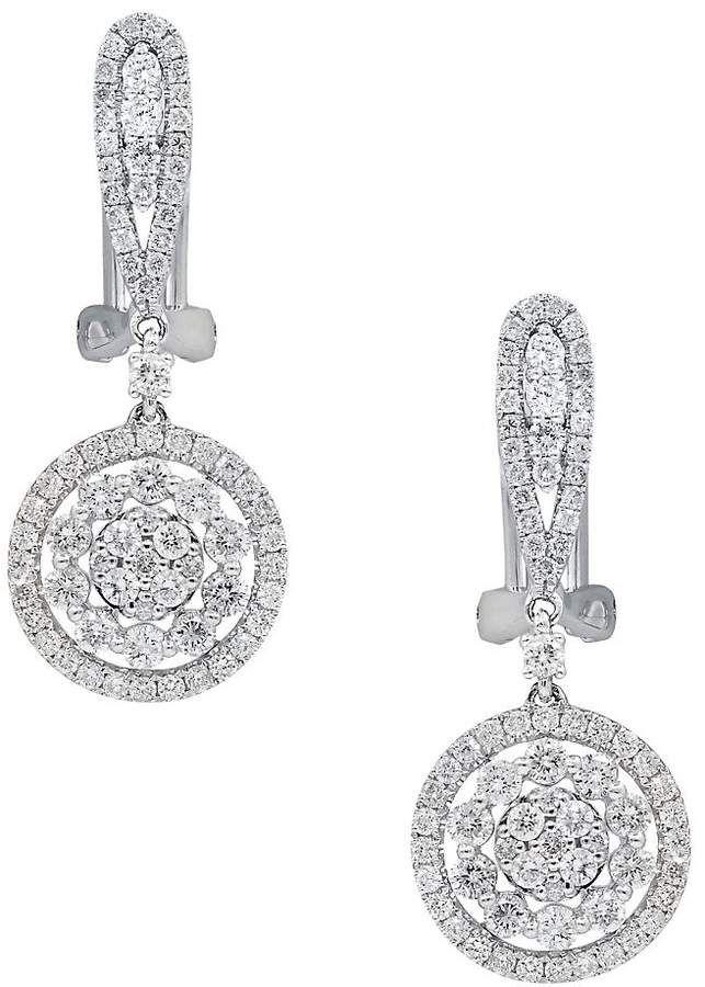 Diana M. Jewels 18k Diamond Triple Drop Earrings TuQRsZuLDn