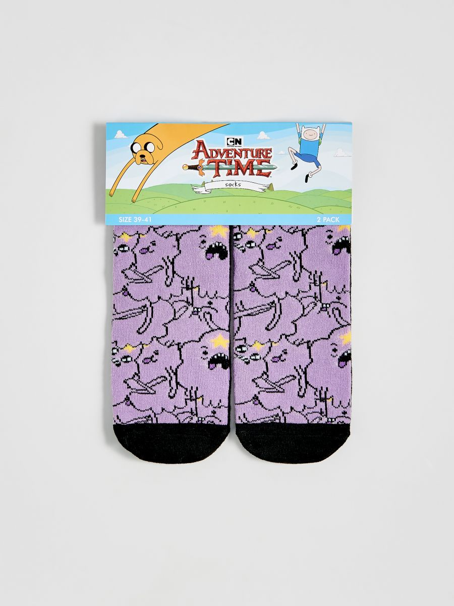 Pin By Ewelina Z On Skarpetki Socks Women Socks Adventure Time