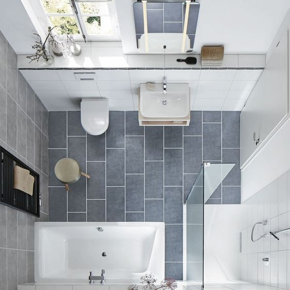 drei stile platz für badespaß auf kleinstem raum