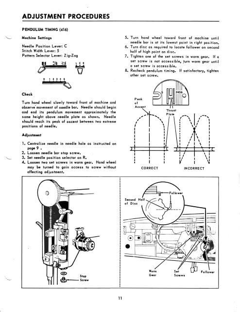 Singer 40 40 Sewing Machine Service Manual Vintage Sewing Impressive Sewing Machine Tension Adjustment