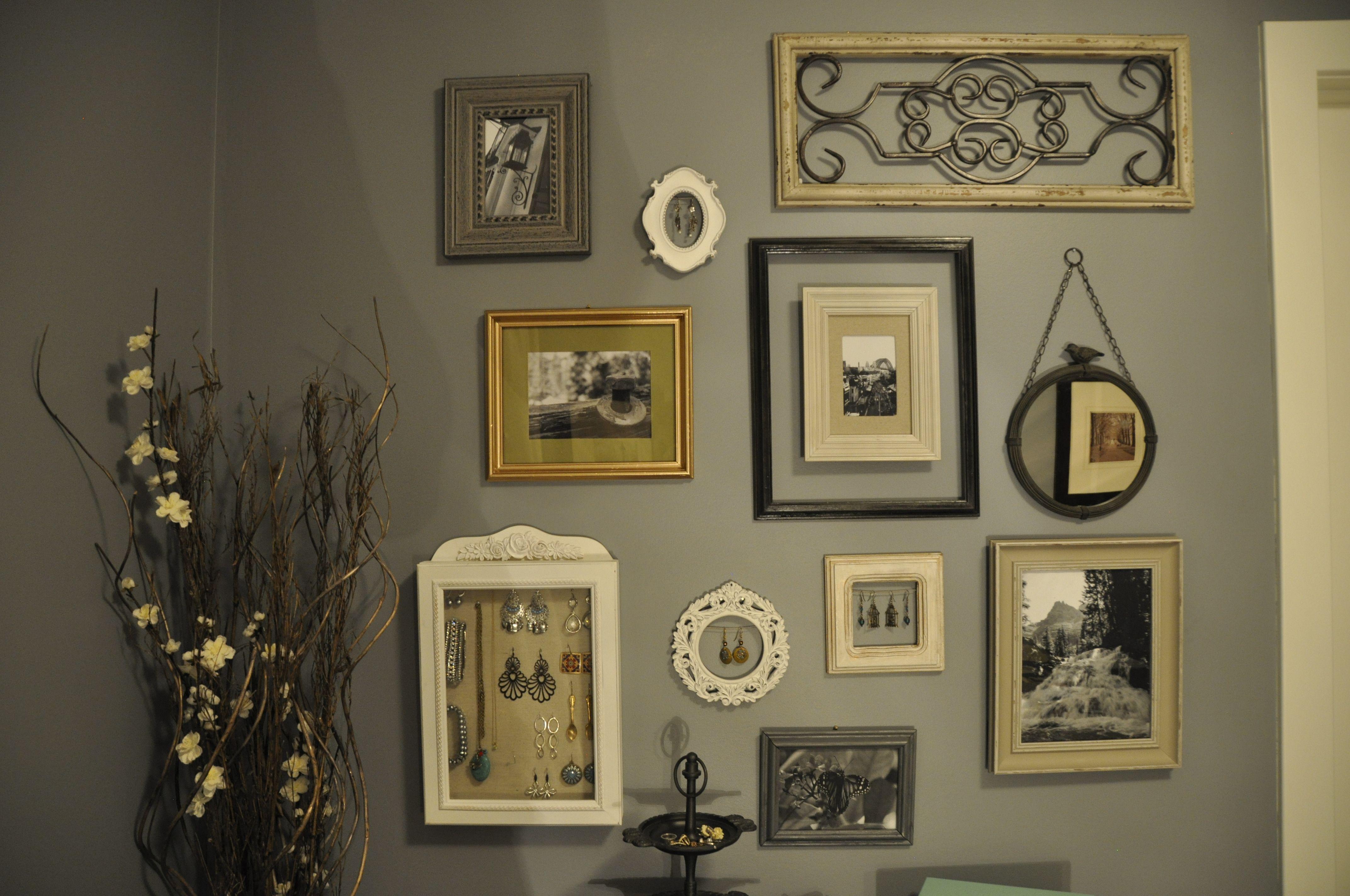 Picture Frame Arrangement   deco murs maison   Pinterest   Picture ...