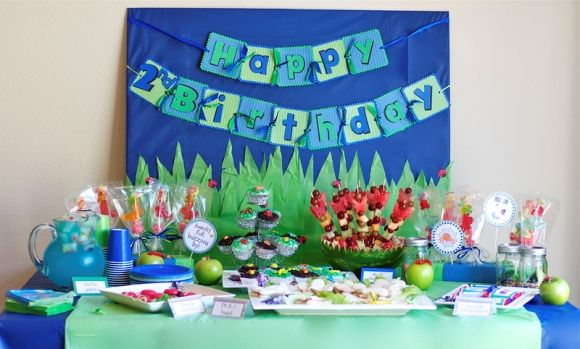 Birthday Party Decoration Ideas For 2 Year Old Boy High School