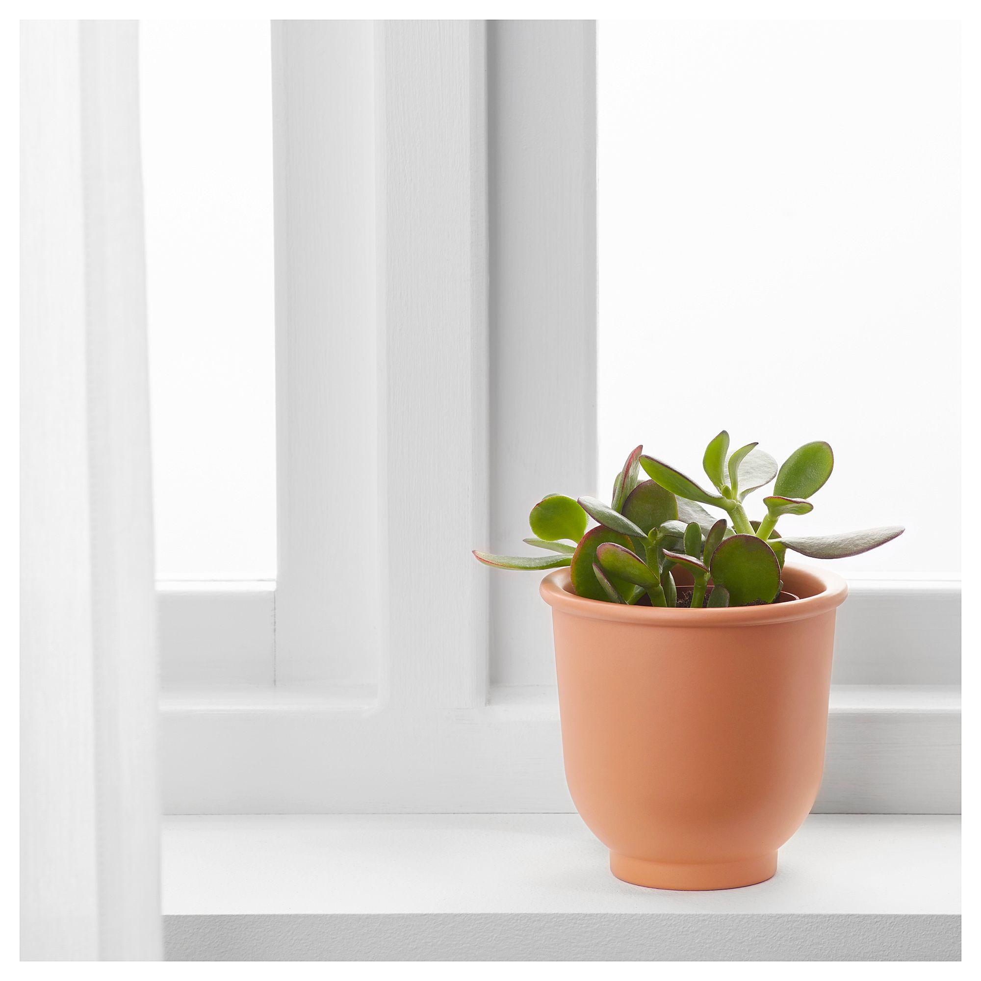 Gießkanne Pflanztopf für drinnen und draußen verzinkt IKEA SOCKER Übertopf