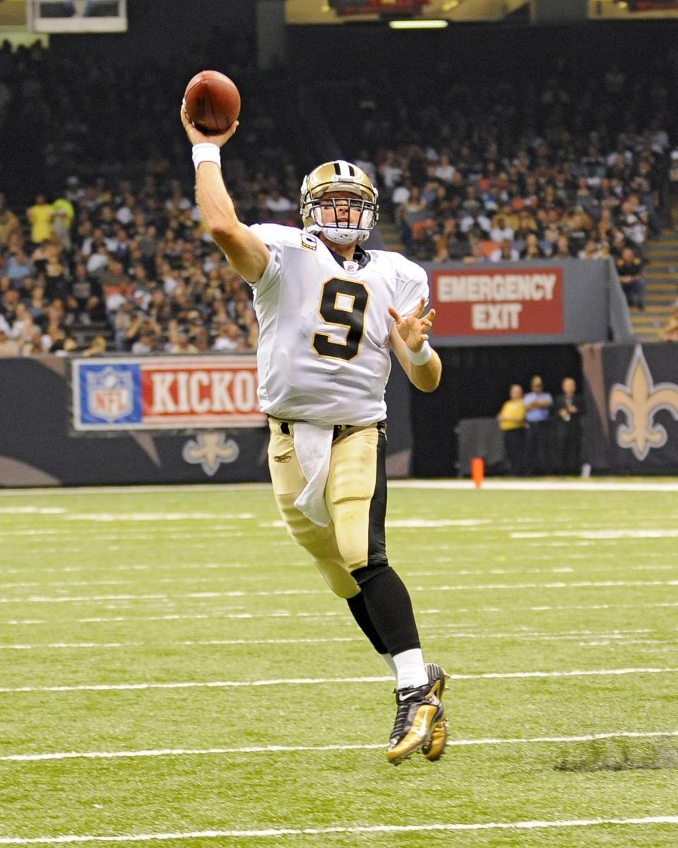 Drew Brees NO Saints (With images) Patriots defense