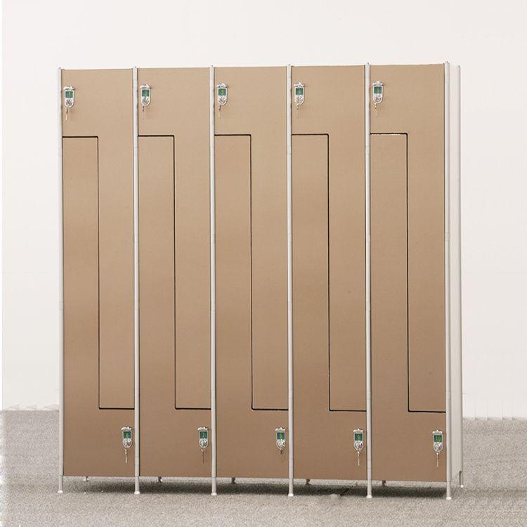 Hot Item Melamine Board Hpl Waterproof Storage Locker For Gym Locker Storage Waterproof Storage Storage