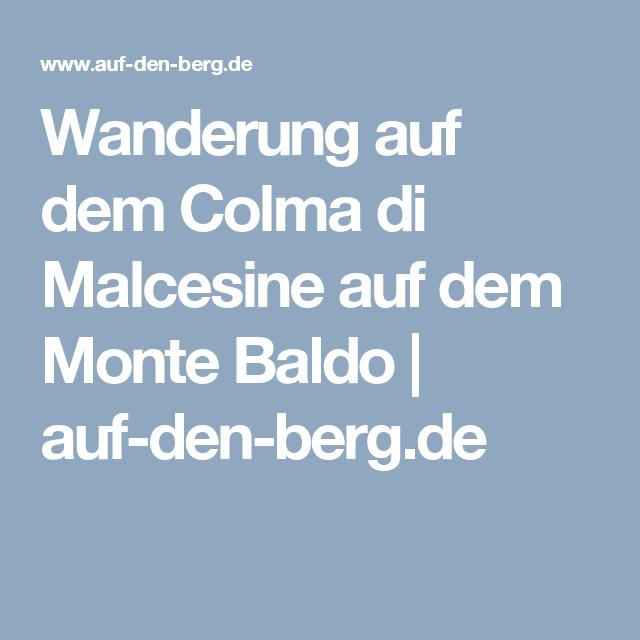 Wanderung auf dem Colma di Malcesine auf dem Monte Baldo | auf-den-berg.de