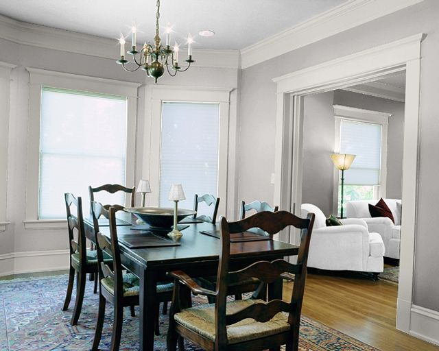 Wall Colors Essential Gray And Eider White Trim