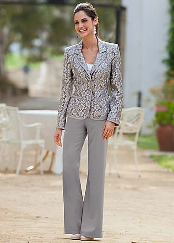 Silver Suit Trou Klere In 2019 Wedding Pants Outfit