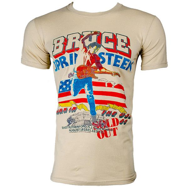 Bruce Springsteen Tour T Shirt Classic Rock Band Tee Springsteen