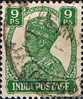 India 1940 King George VI Fine Used                    SG 267 Scott 170    Other Asian and British Commonwealth Stamps HERE!