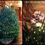 D.I.Y. Twine Ball Tree Topper
