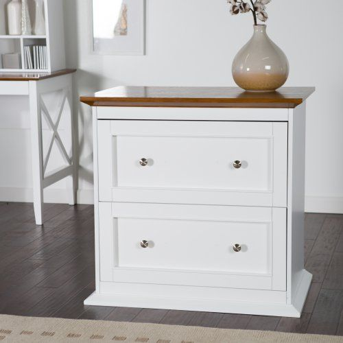 Belham Living Hampton Two Drawer Lateral Wood File Cabinet Cabinets At Hayneedle More