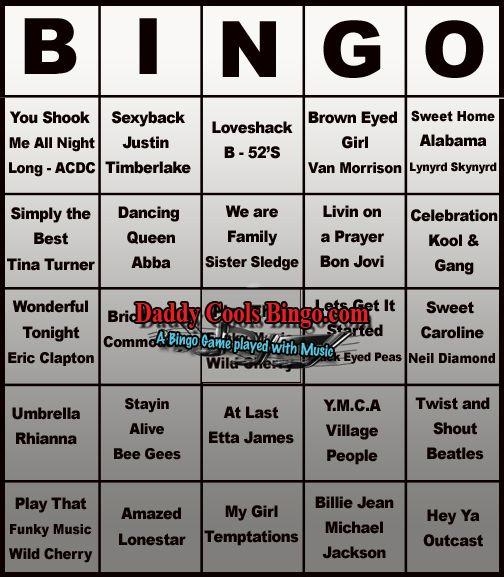Music #bingo