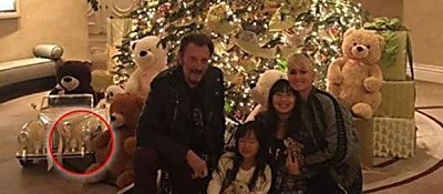 Johnny Hallyday : cette photo de famille publiée par la star a choqué de nombreux internautes à cause de ce petit détail...