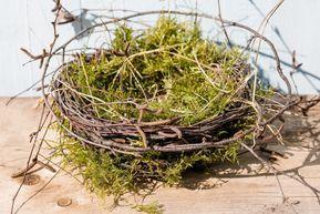 Photo of A DIY for Easter or bird's nest homemade • Pomponetti