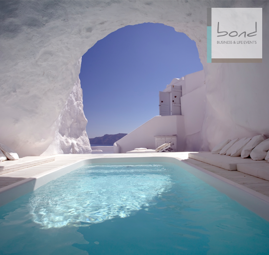 Greece is a natural location for the healing process.Visit BOND  at http://bondeventplanning.com/