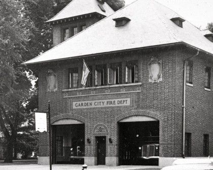 The Garden City Fire House When It Was Located On Seventh Street