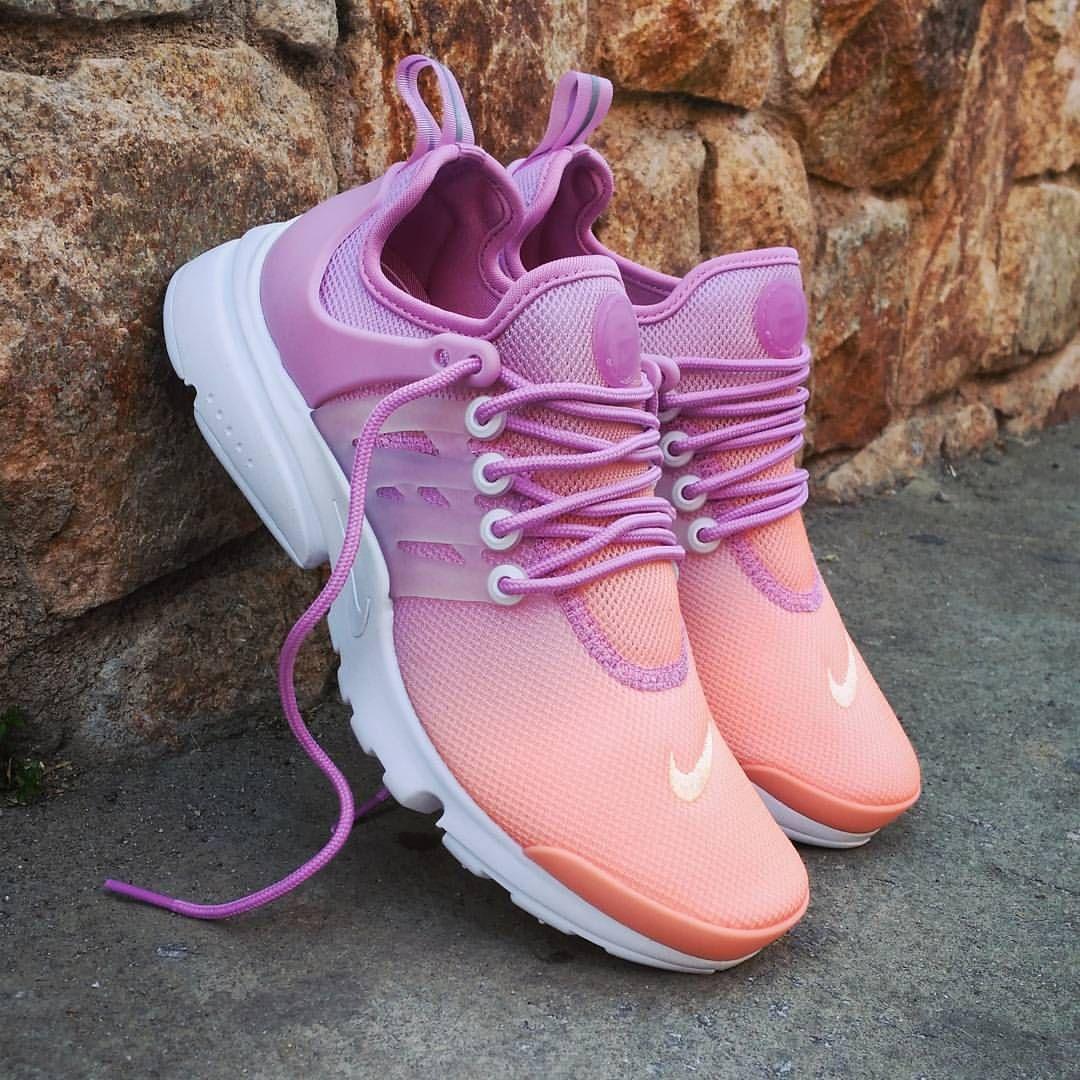 nike air presto orange lila sneakerdiscount