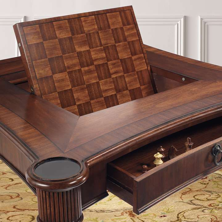 Mandalay Chess Game Table And Chairs Furniture Only