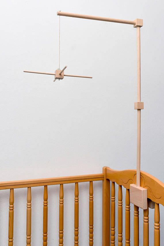 Baby Crib Wooden Mobile Arm With Mobile Hanger, Baby Mobile Stand ...