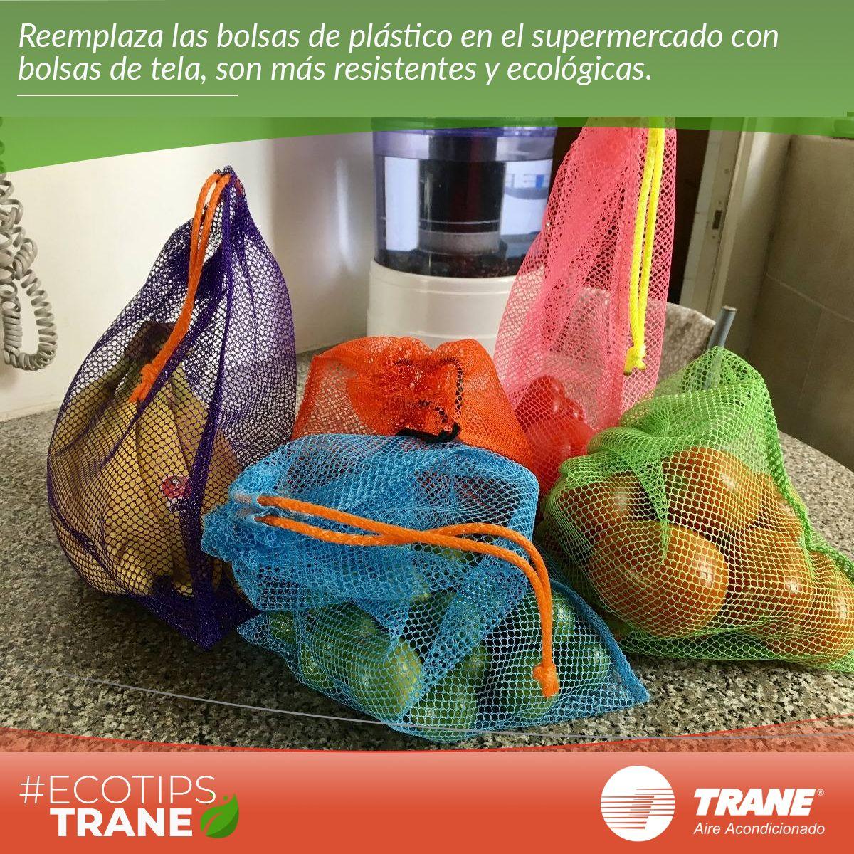 Te Recomendamos Usar Bolsas De Tela Para Tus Frutas Y Verduras En