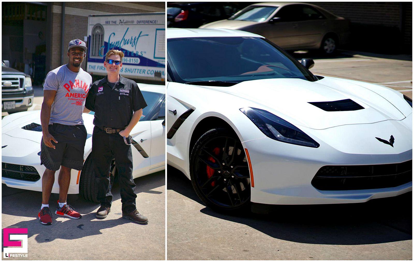 Houstontexans S Star Tyler Ervin Got His Corvette Protected With Ceramic Pro By Ceramic Pro Texas Ceramicprousa Corvette S Star Stars