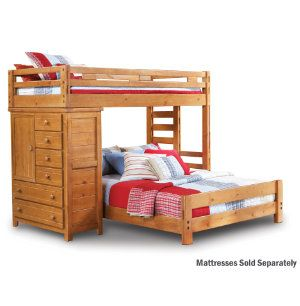 Best Twin Full Loft With Chest Youth Bedroom Bedrooms 400 x 300