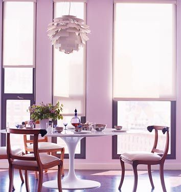 Lavender Hues When Done Right Turn Neutral  Rooms I Heart Brilliant Dining Room Empire Review