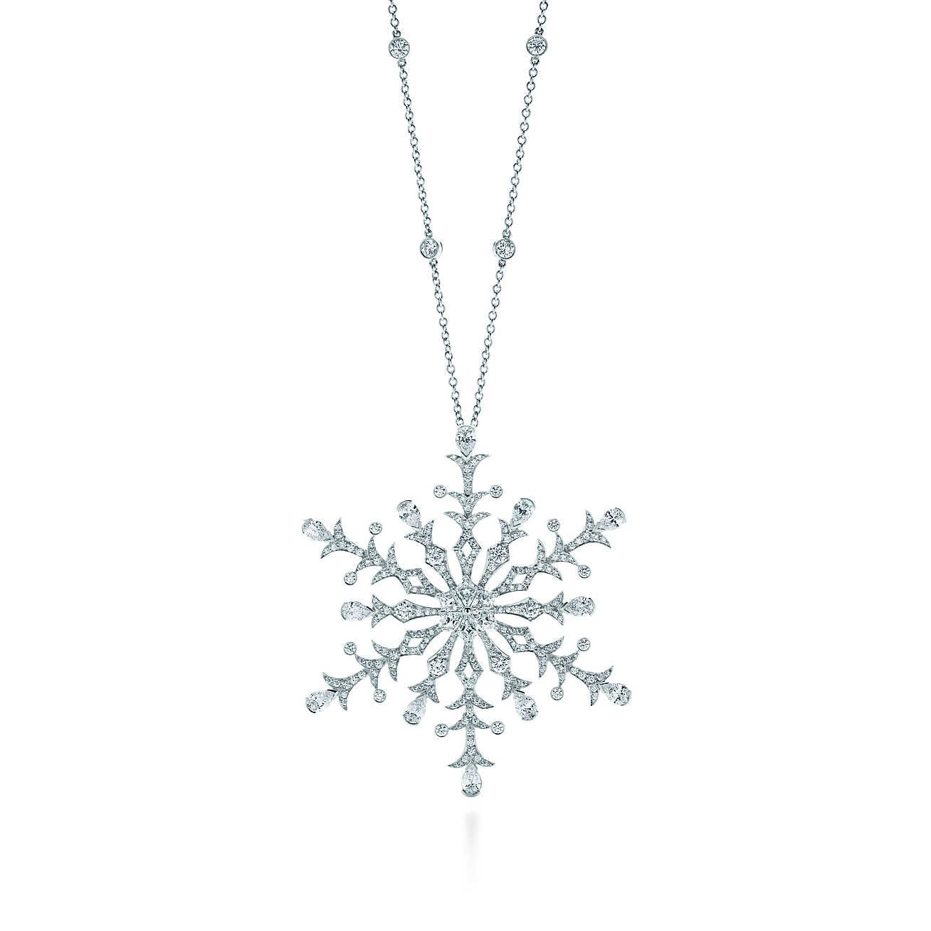 Tiffany snowflake google search snow pinterest tiffany snowflake diamond pendant in platinum mozeypictures Gallery