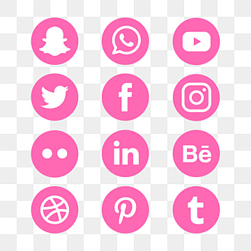 Pink Icon Png Images Vector And Psd Files Free Download On Pngtree Instagram Icons Icon Creative Graphic Design
