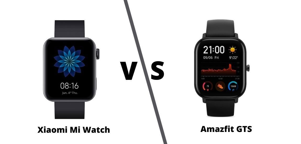 Xiaomi Mi Watch Vs Amazfit Gts What S The Difference Xiaomi Wearable Technology Fitness Tracker