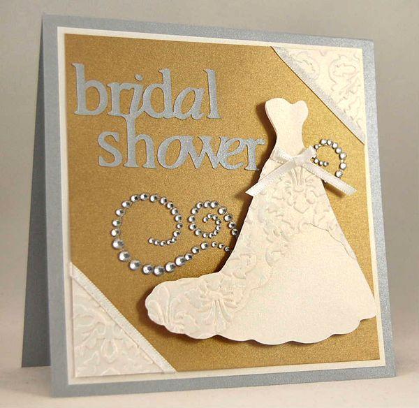 Bridal Shower Invitation #cricut