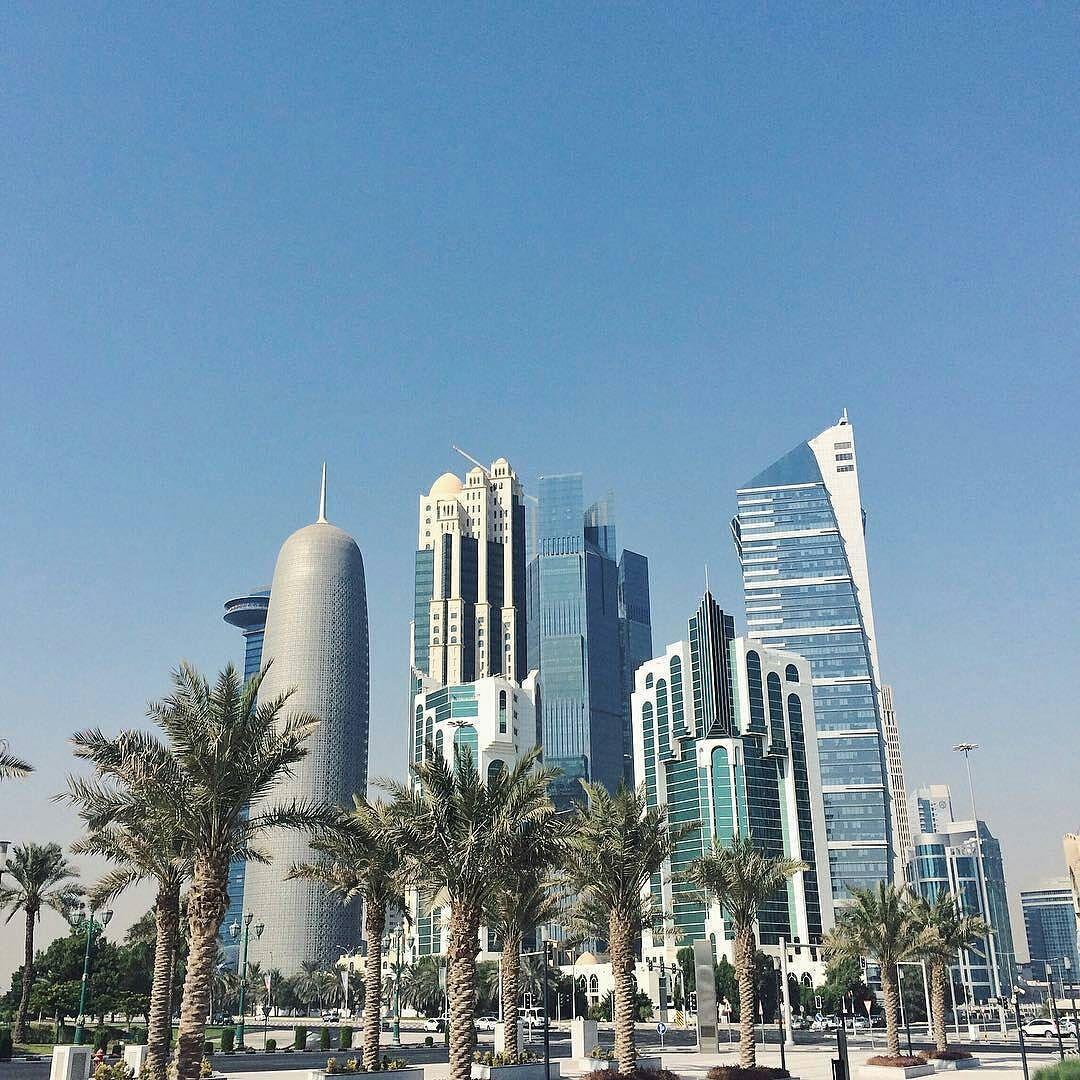 View from Sheraton Park Doha Qatar misslcgranger Like